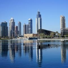 Архитектура Дубай