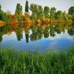 Дорогая Осень, мы с тобой два берега у одной реки.