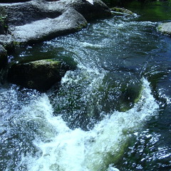 Вода и камни, вариант.