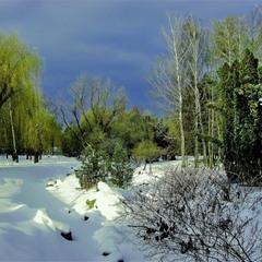 В окрестностях зимы.