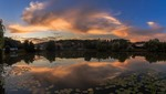 Після заходу сонця. Панорама
