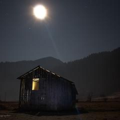 Якось зимою в ночі ))