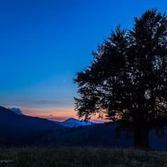 Вечоріло у горах