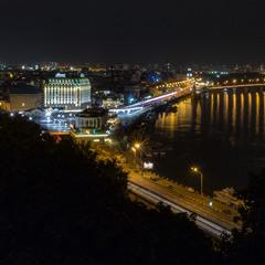 Киев вечерний. Подол.