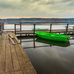 Початок нового дня. На озері.