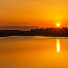 Захід сонця по українськи.