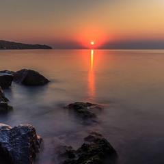 Молочный восход солнца