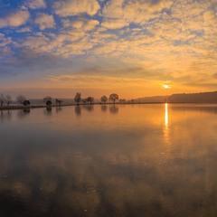 Кольоровий схід сонця