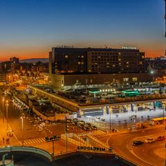 Estación de Barcelona-Sants.