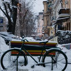 Зимний городской этюд