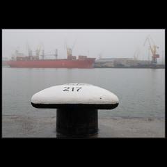 Туманный порт..
