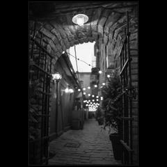 Самая узкая улочка Одессы)
