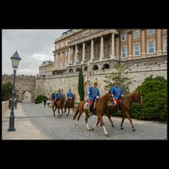 Про бравых мадьярских гвардейцев (Будапешт, Королевский дворец)