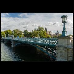Мост в парк Варошлигет (Будапешт)