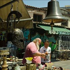На блощином рынке Монастираки (Афины)