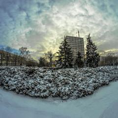 Зимний Мариуполь