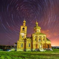 Ночное небо Мелекино
