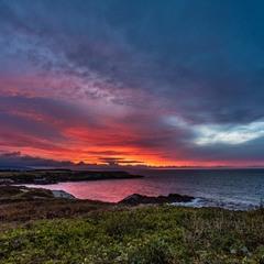 Закат на Бискайском заливе