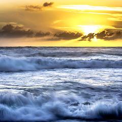 Закат на Атлантике