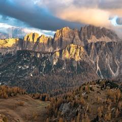 Альпийский закат