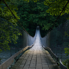 Навесной мост р. Черемош