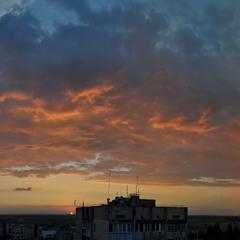 Небо на закате