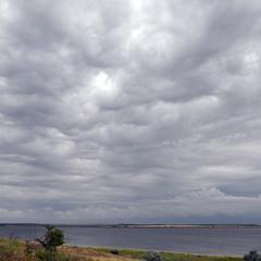 Небо над Тилигульским лиманом 17 июня