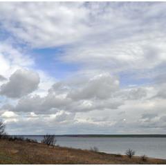 Небо и лиман