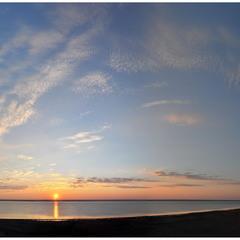 Рассвет над Тилигульским лиманом