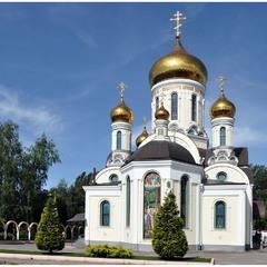 Храм Серафима Саровского в Свято-Иверском мужском монастыре г. Одесса