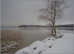 Зимний пейзаж Финляндии