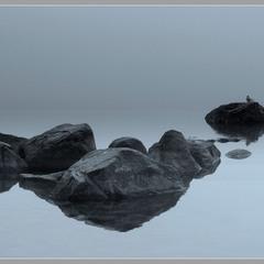Майский туман на Балтике