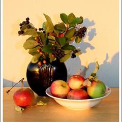 Созрели яблочки