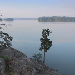 Раннее утро в шхерах Балтики