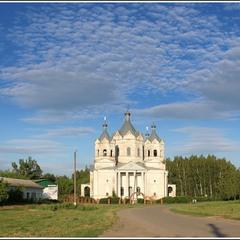 Сельский храм в провинции