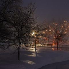Причуды зимы или зимняя сказка.