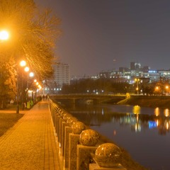 Набережная реки Лопань...