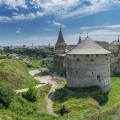 Стара фортеця в Кам'янці (вид з фортечних мурів)