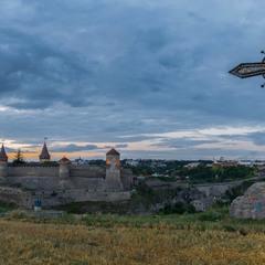 Вечір над фортецею...