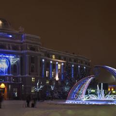 Зимова ніч казкова...