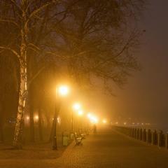 Туманный вечер перед Крещением...