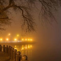 Туман над річкою...