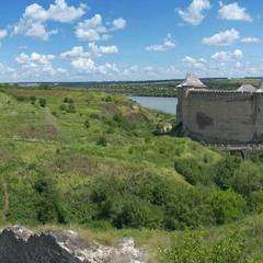 Хотинська фортеця (вид з фортечних мурів)
