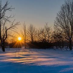 Зимнее дыхание...