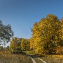 Теплая осень...