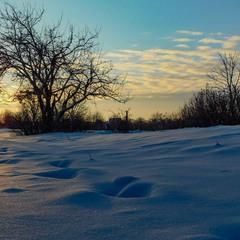 Зимний вечер...