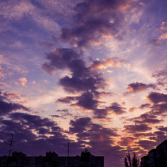 Небо Перед Закатом