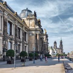 Улочки Дрездена