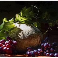 Дыня и виноград 2