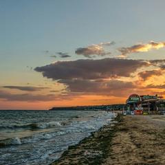 Вечер на побережье